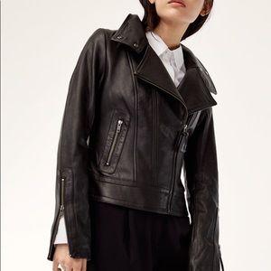 Mackage Kenya Leather Jacket for Aritzia - XS
